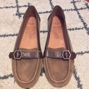 UGG Nubuck suede loafers